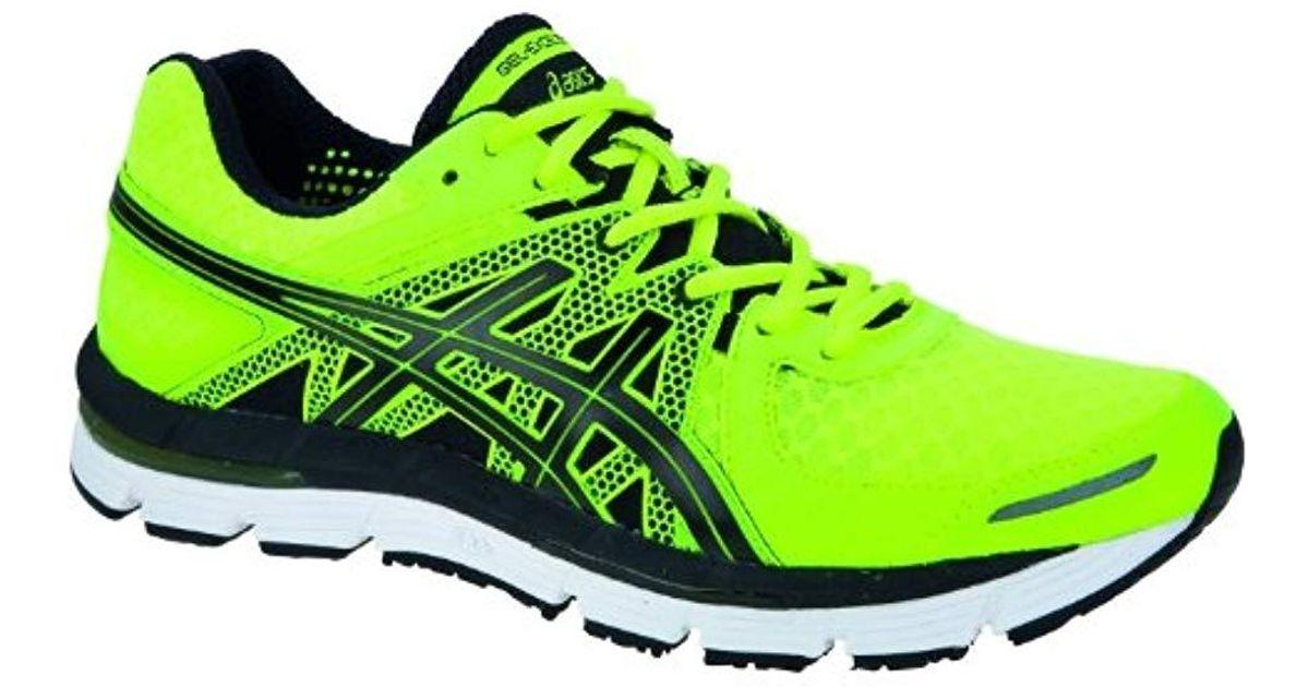 chaussures de sport bd3fa a9049 Asics Green Gel-excel33 Running Shoes for men