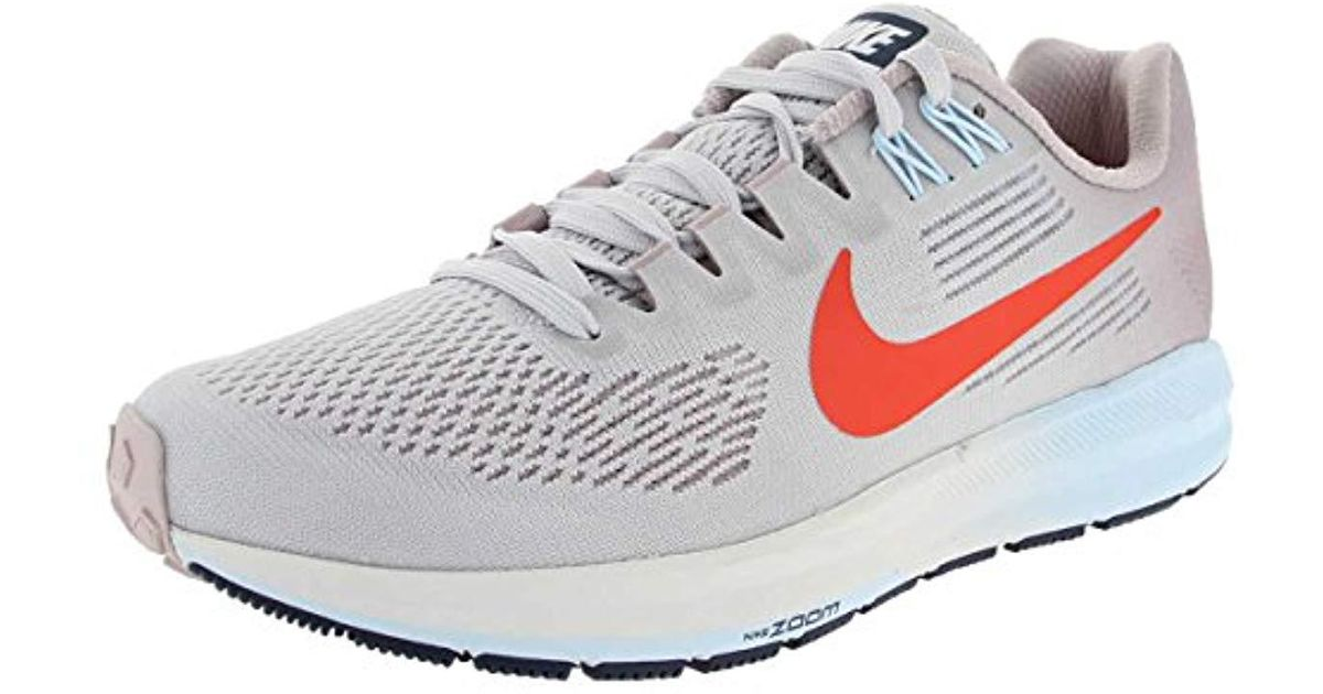 nike w air zoom structure 21 running shoes lyst rh lyst co uk