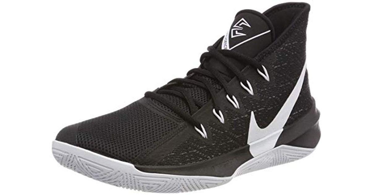78e8ca685014f Nike Zoom Evidence Iii Basketball Shoes, White/black 002, 6 Uk for men