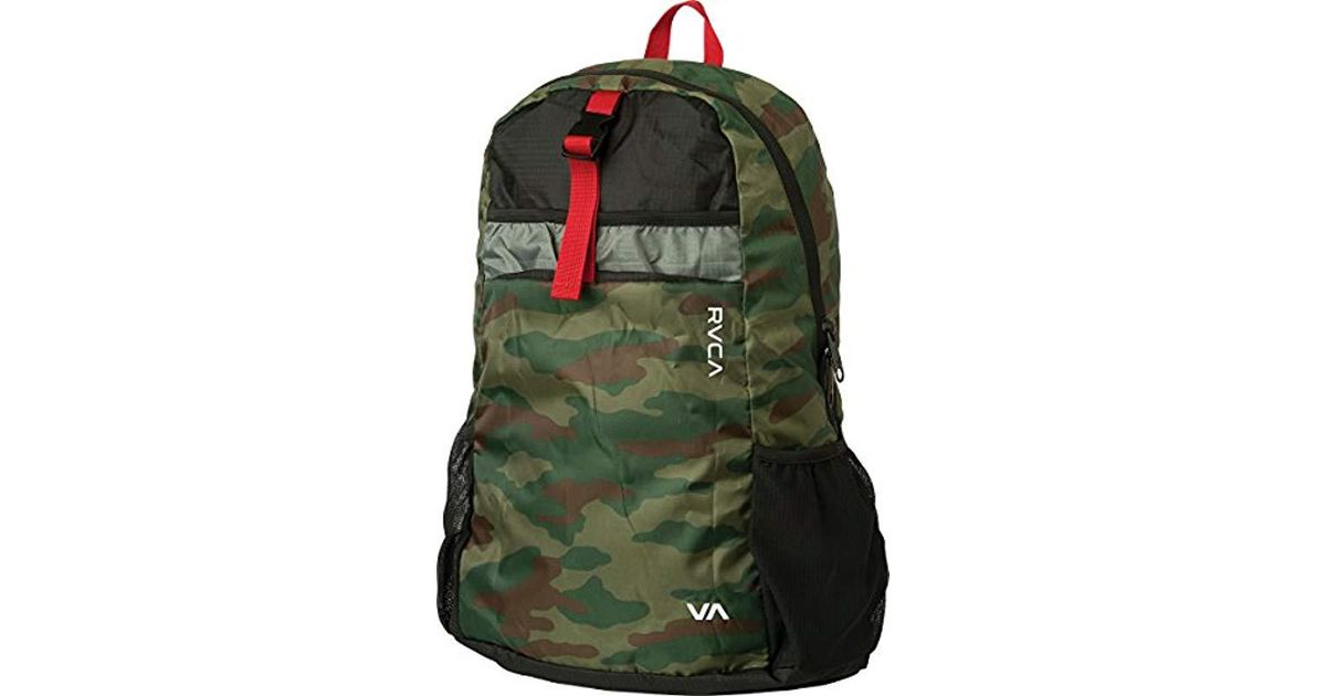 492aaebc45ffb Lyst - RVCA Densen Packable Backpack for Men - Save 50%
