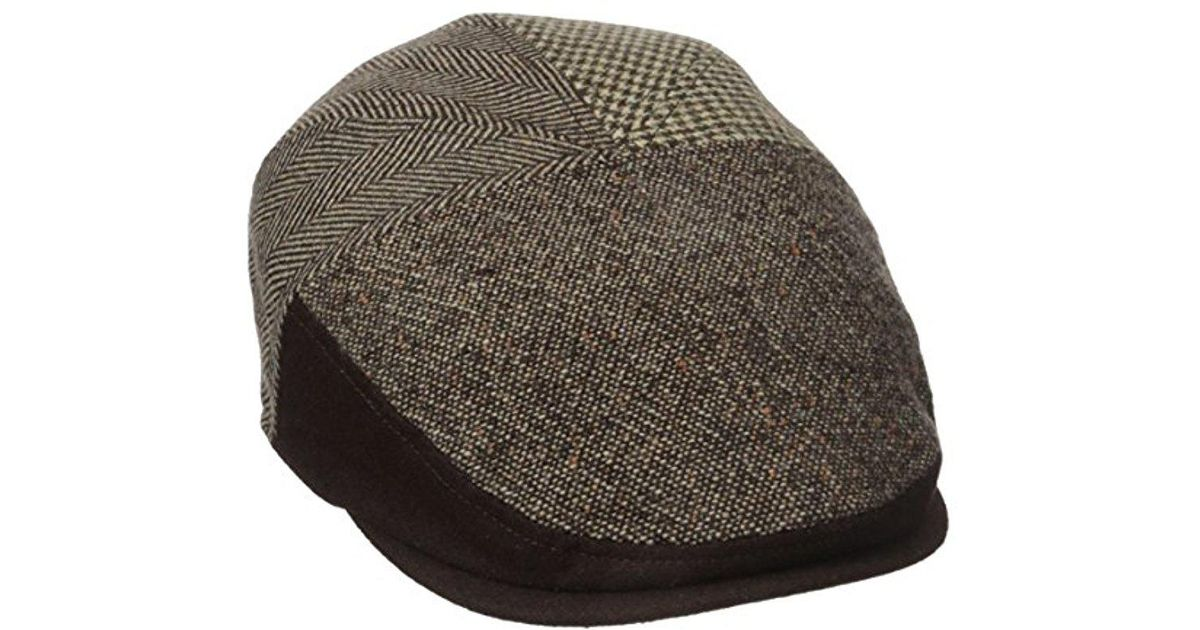 6c296dd585b Lyst - Dockers Ivy Newsboy Hat in Brown for Men
