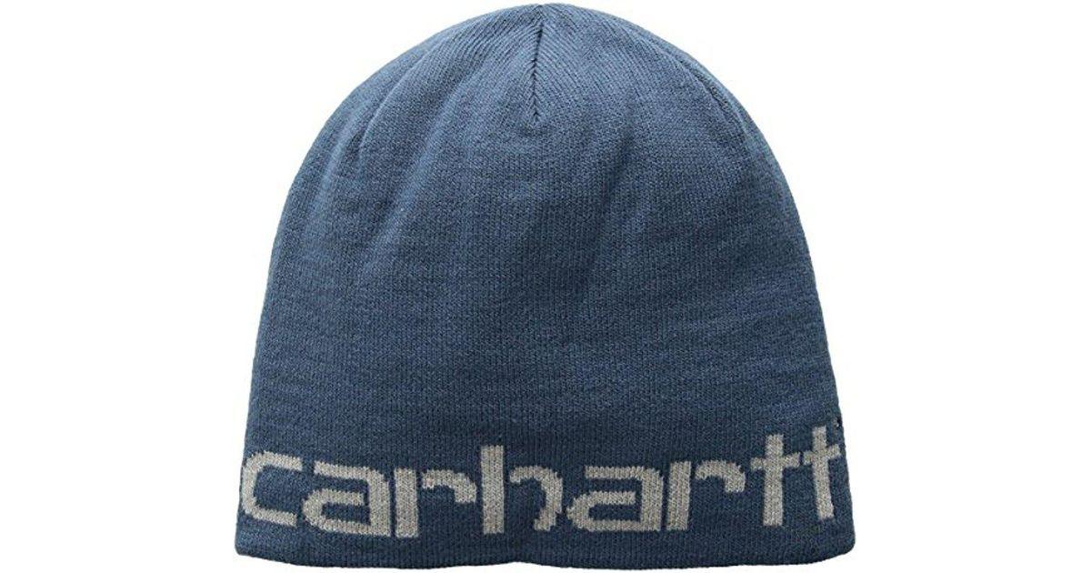Lyst - Carhartt Greenfield Reversible Hat in Blue for Men ce0b5c8ed