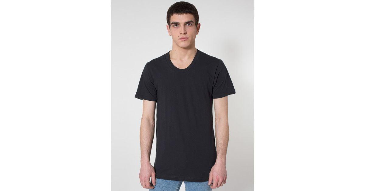 American apparel sheer jersey loose crewneck 39 summer 39 t for American apparel mesh shirt