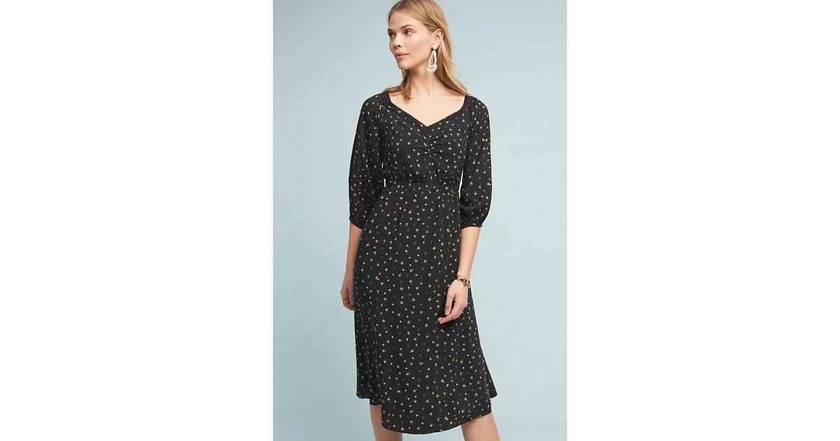 b7ed73eecca0 Anthropologie Emmy Off-the-shoulder Dress in Black - Save 51% - Lyst