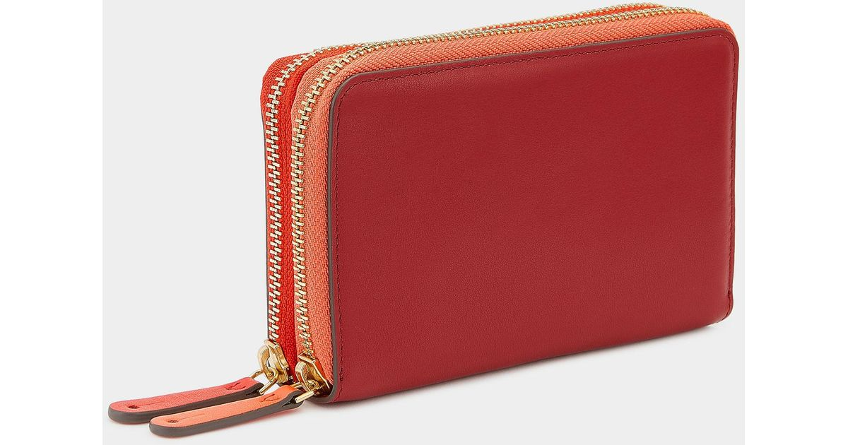 double wallet - Brown Anya Hindmarch 9R4GS3M
