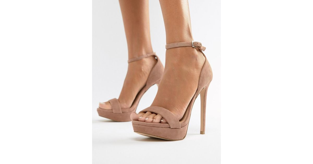Pink Madden Steve Blush Sarah Suede In Heeled Sandals 5uK13TJclF