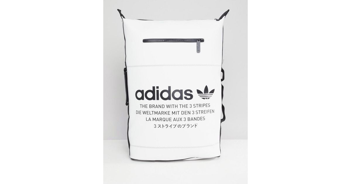 Adidas White Mochila Blanca Dh3098nmd Originals For Lyst Men De hdQrts