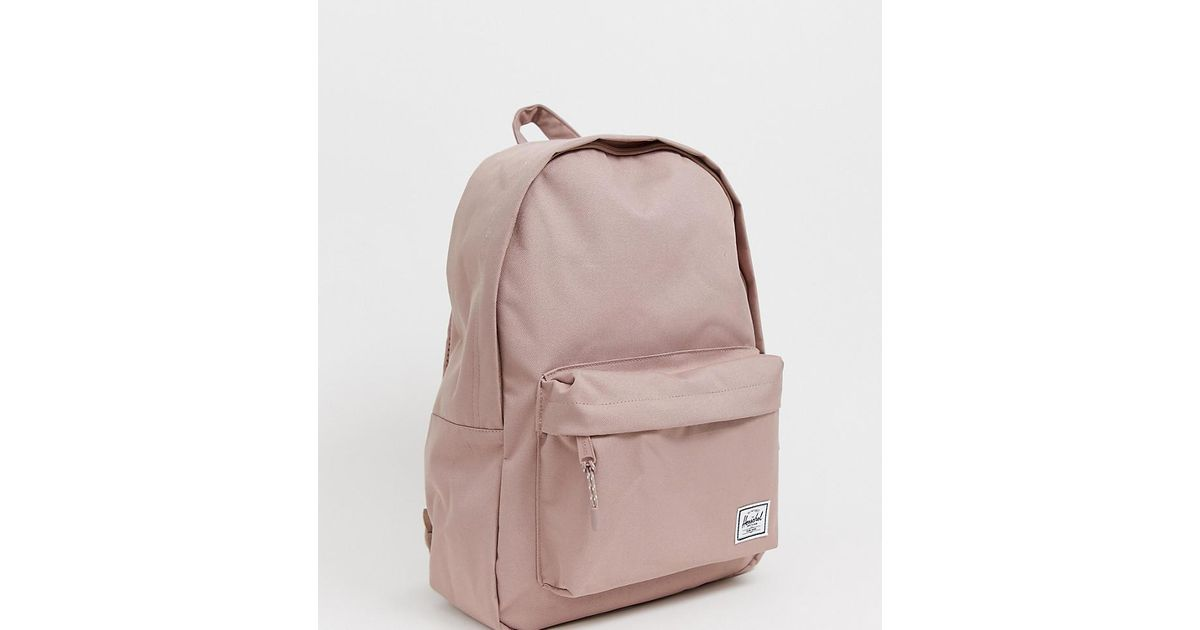 3fbda83125 Herschel Supply Co. Classic Pink Backpack in Pink - Lyst