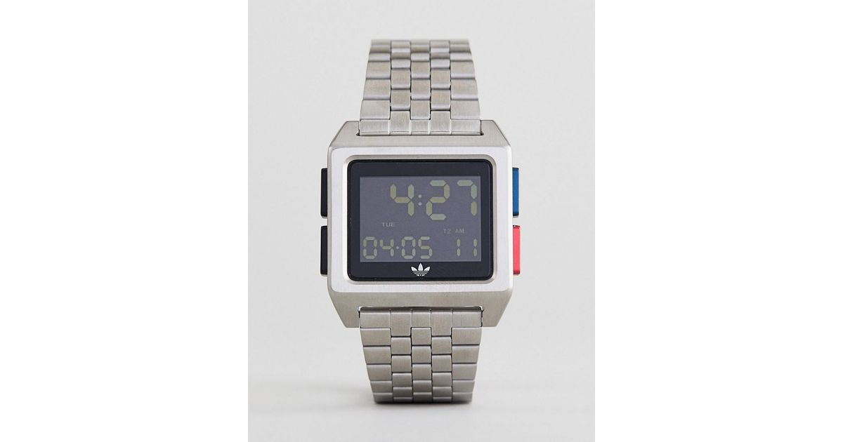 Adidas Z01 Archive Bracelet Watch In Black
