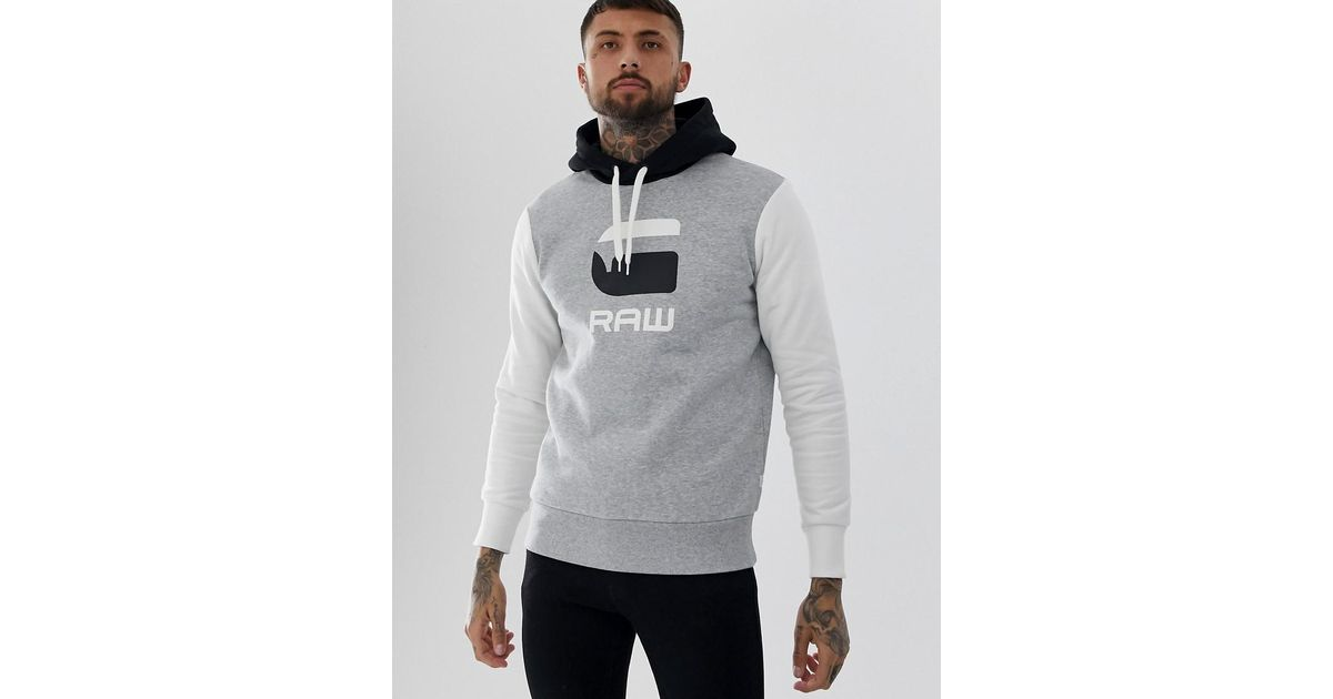 Express Funnel Neck Pullover Hoodie Mens Med /& Large NWT $49 Black//Gray