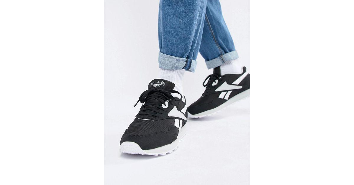 Reebok Rapide Mu Sneakers In Black Cn5914 in Red for Men - Lyst 6e85eb92d