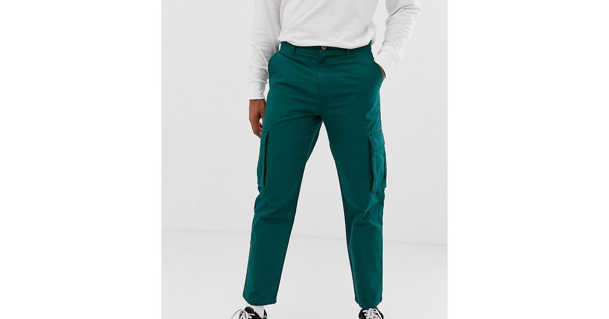 reputable site great prices pick up Collusion Skater Fit Cargo Pant In Green for men