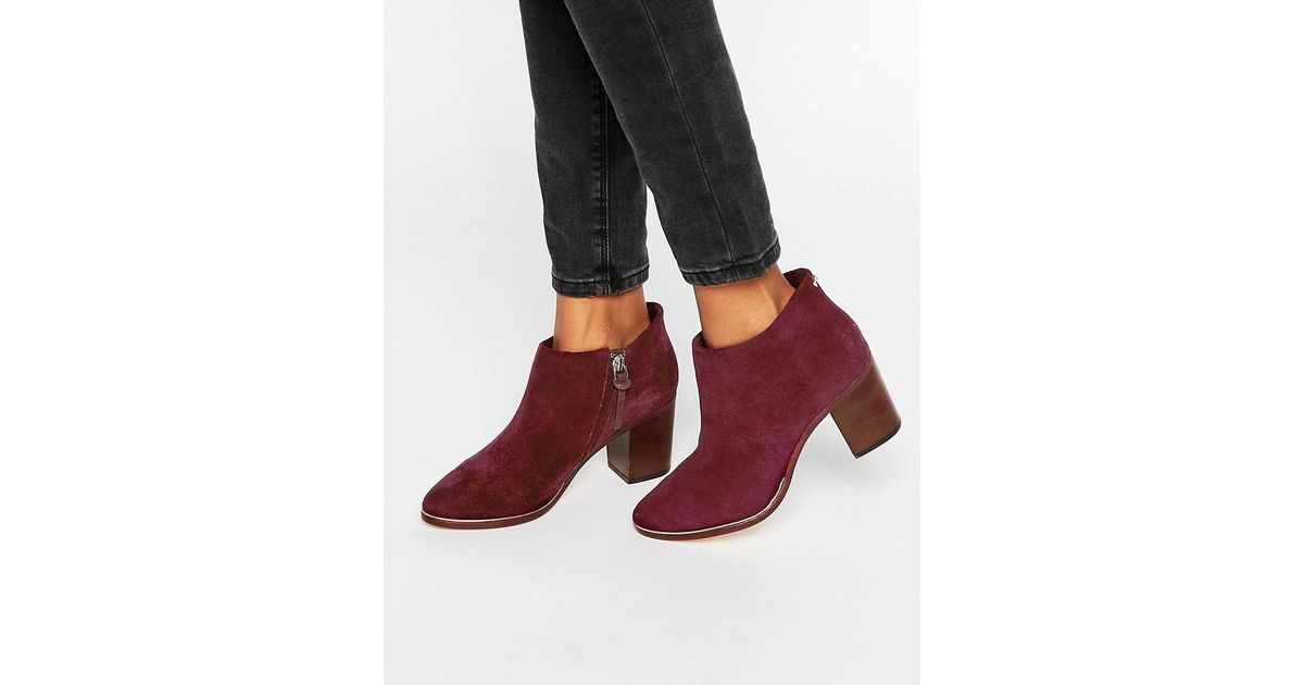 fc4af4d239e9 Ted Baker Hiharu 2 Ankle Boots - Lyst