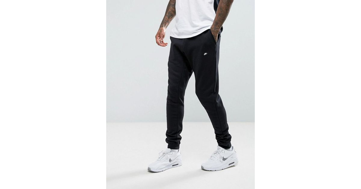 quality design d4d52 8558f Nike Modern Joggers In Black 835862-010 in Black for Men - Lyst