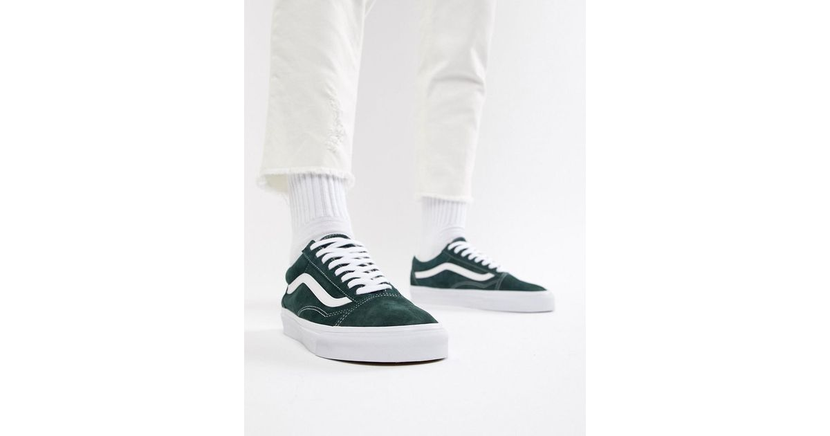 f72ed87abc Vans Old Skool Trainers In Green Vn0a38g1u5j1 in Green for Men - Lyst