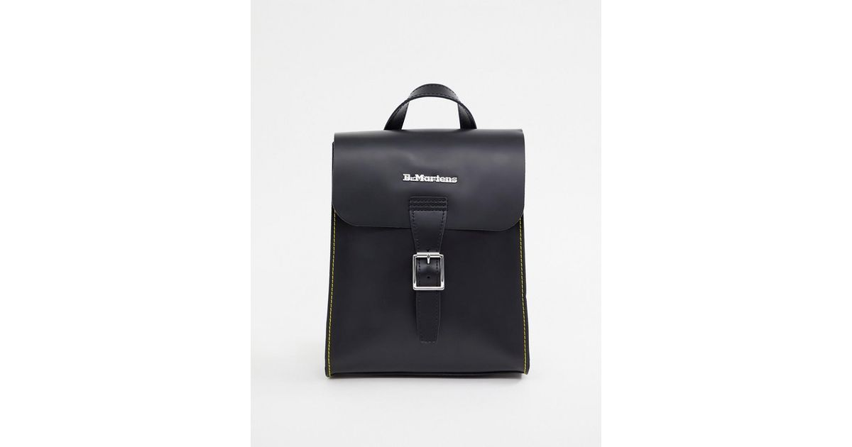 44fb90e4ba Lyst - Dr. Martens Mini Leather Backpack in Black