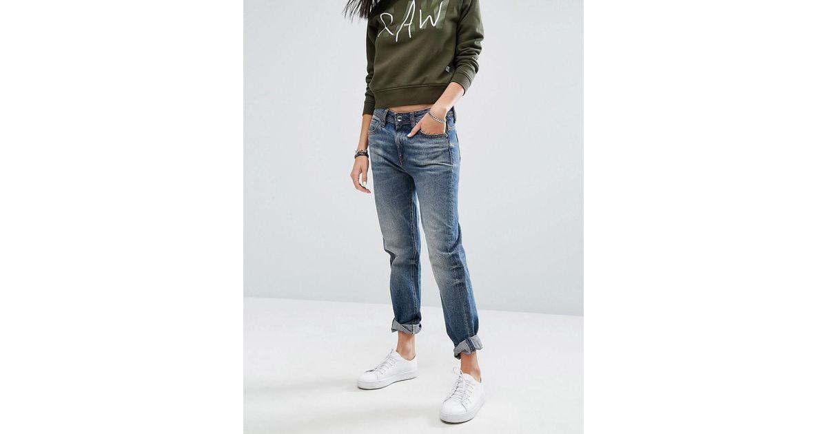 Midge Saddle High waist Boyfriend Jeans G-Star Auslass Sneakernews Billig Verkaufen Mode SW0quRzmNN