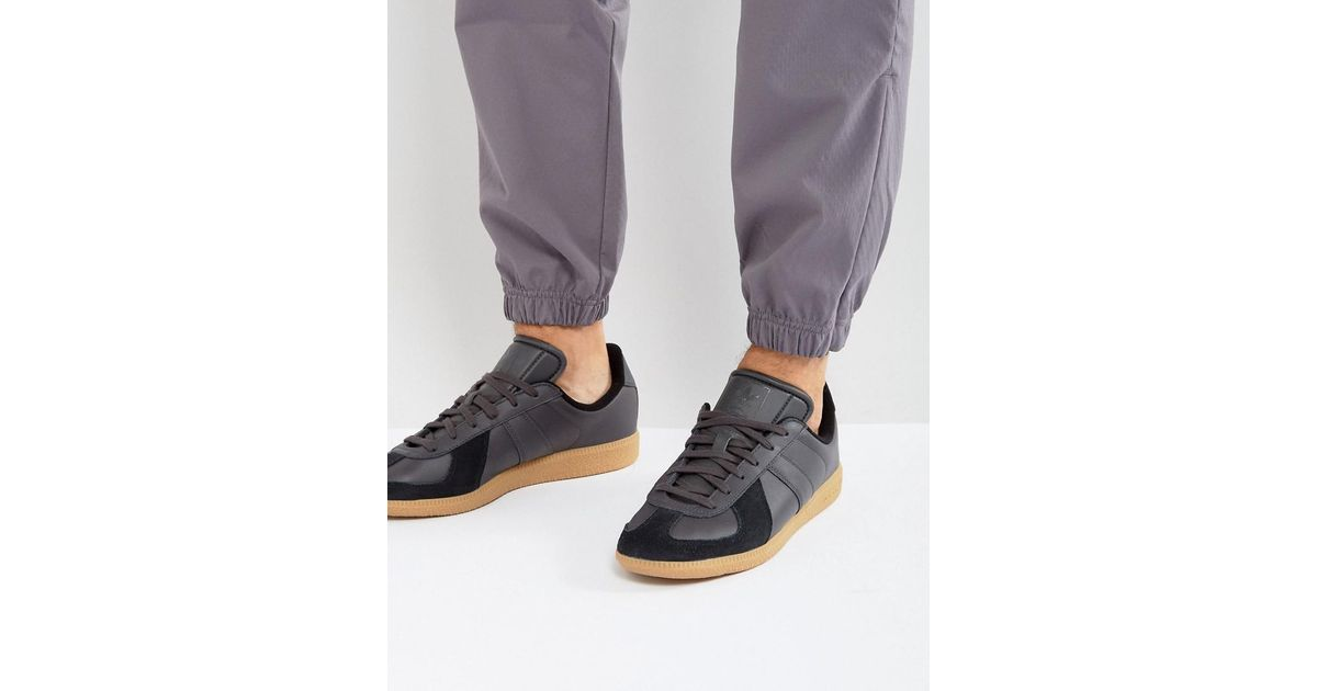 premium selection 7ea26 3b80e Lyst - adidas Originals Bw Army Trainers In Black Bz0580 in Black for Men
