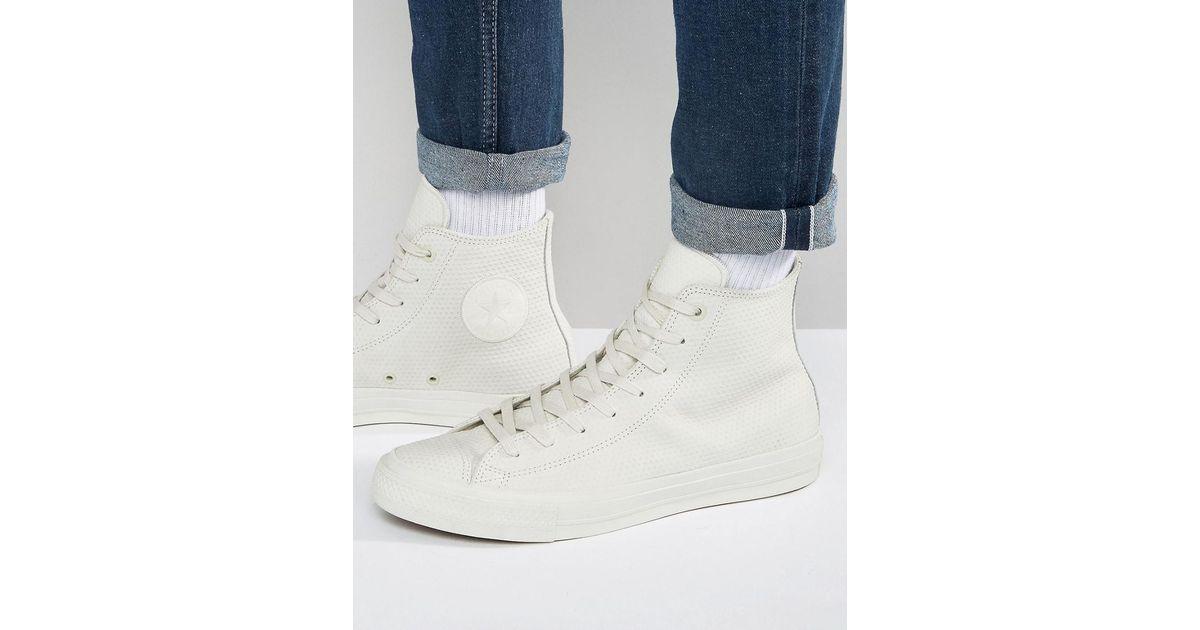 e84019bda94 Lyst - Converse Chuck Taylor All Star Ii Hi Sneakers In White 155763c in  White for Men