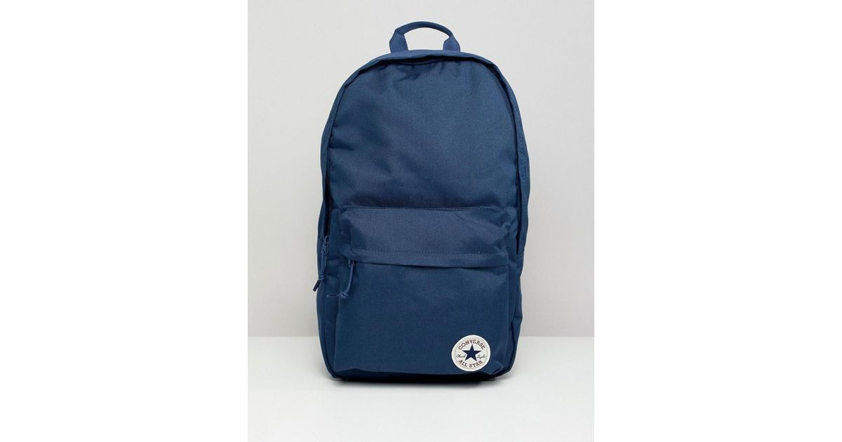 d141e0b5850d Converse Backpack In Navy 10003329-a02 in Blue for Men - Lyst
