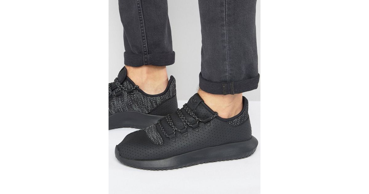 brand new 529f0 cb883 Adidas Originals Tubular Shadow Sneakers In Black Bb8823 for men