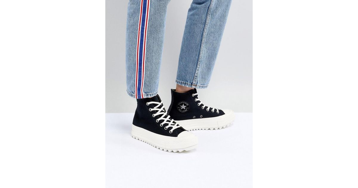 Chuck Taylor All Star Lift Ripple Pig Shoes