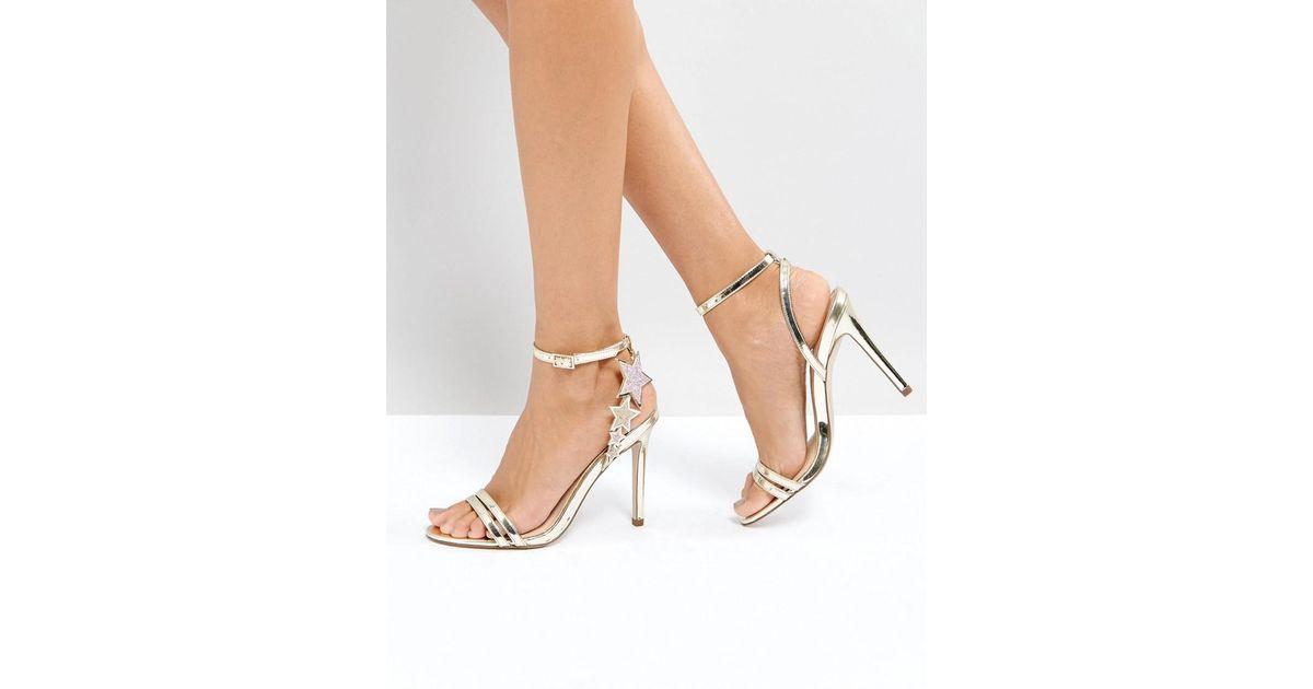 e2bb654d6c3 Office Hotter Metallic Heeled Sandals