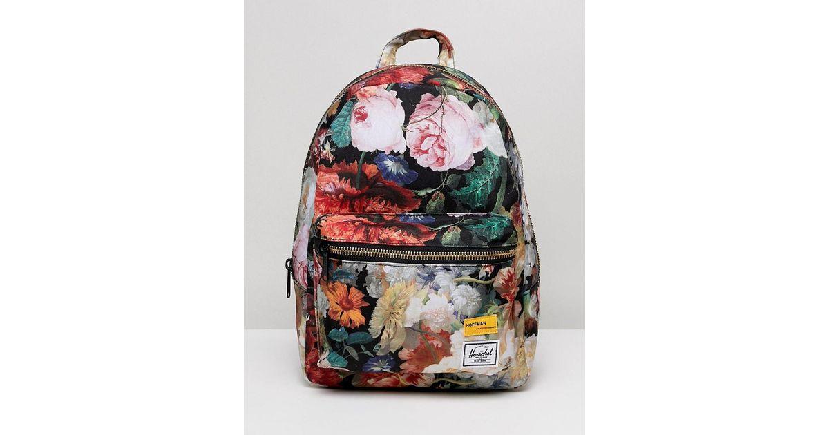 cf28a9d64d5 Herschel Supply Co. Herschel X Hoffman Grove Floral Backpack - Lyst