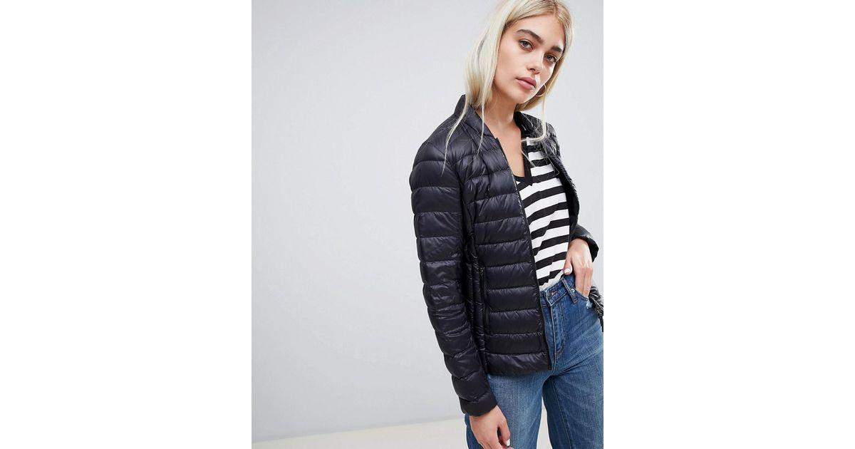 9e5b1292b Armani Exchange Black Down Packable Padded Jacket