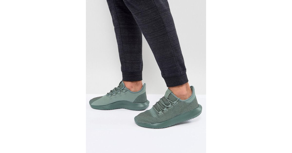 look for 95be0 70060 Adidas Originals Tubular Shadow Trainers In Green By3573 for men