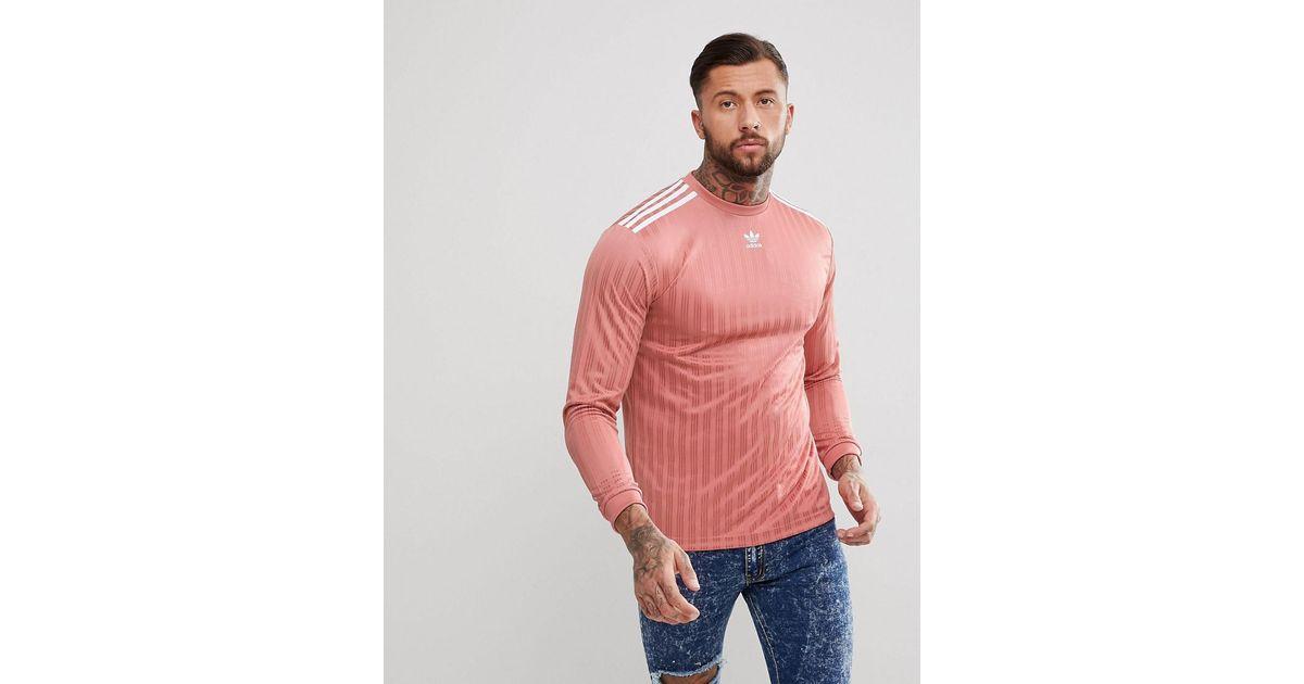 0c0a6fc24597d Adicolor adidas Originals pour homme en coloris Rose - Lyst