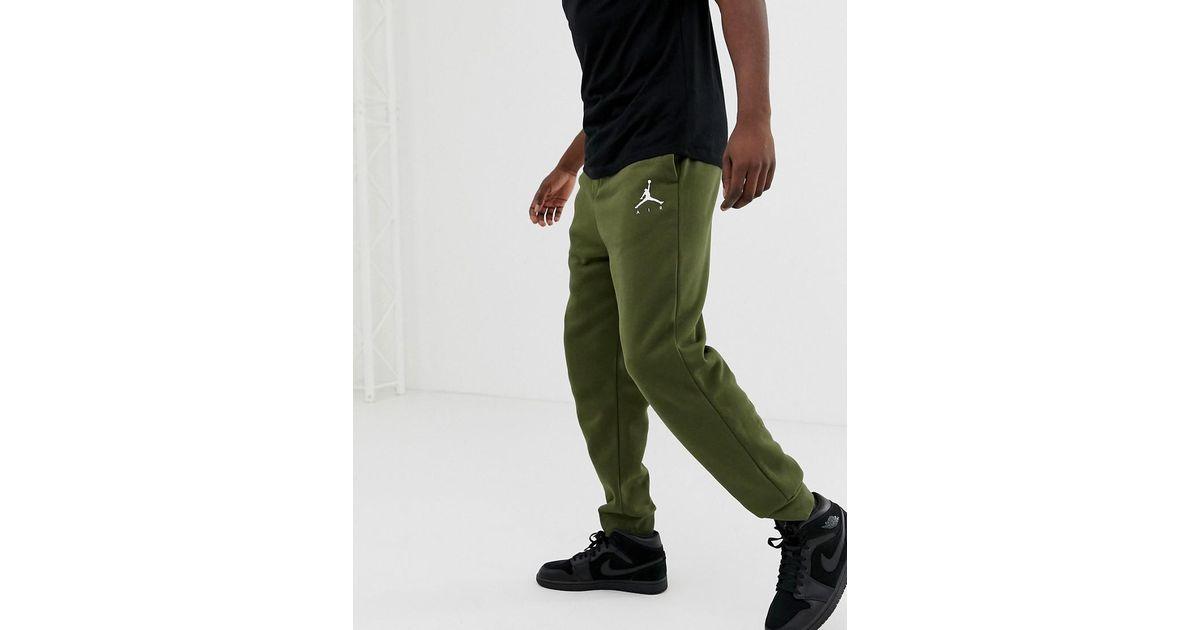1d4f985ea394 Nike Nike Jumpman Skinny Joggers In Khaki 940172-395 in Green for Men - Lyst