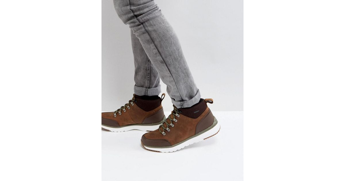 3d947c1509e Ugg Brown Olivert Treadlite Waterproof Leather Boots for men