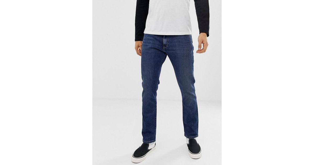 Wrangler TON Mid Jeans Straight Uomo