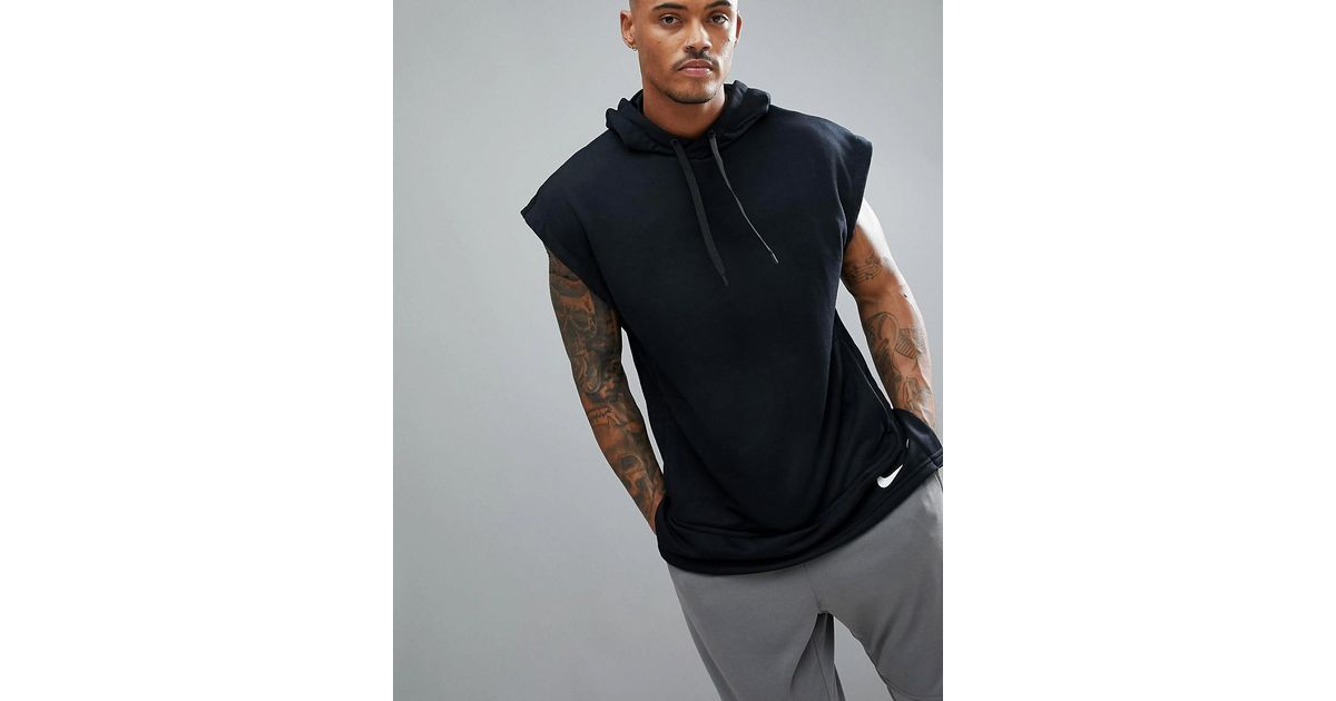 size 40 wholesale sales super specials Nike 'project X' Sleeveless Hoodie In Black Aa4659-010 for men