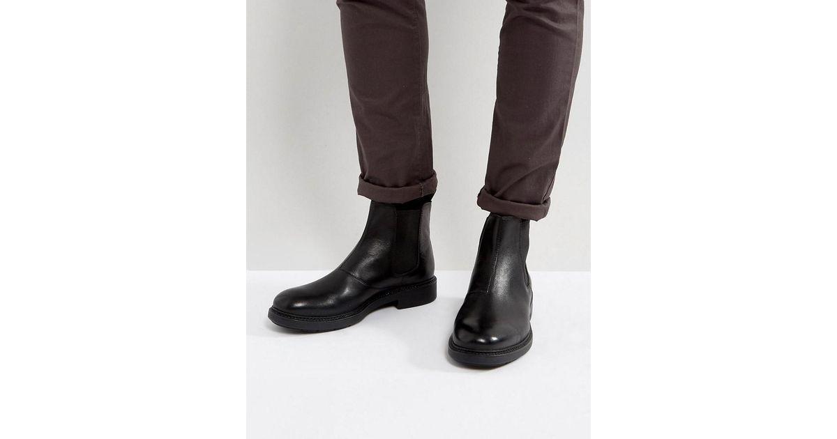 pretty nice c738a bd117 Vagabond Black Edward Chelsea Boots for men