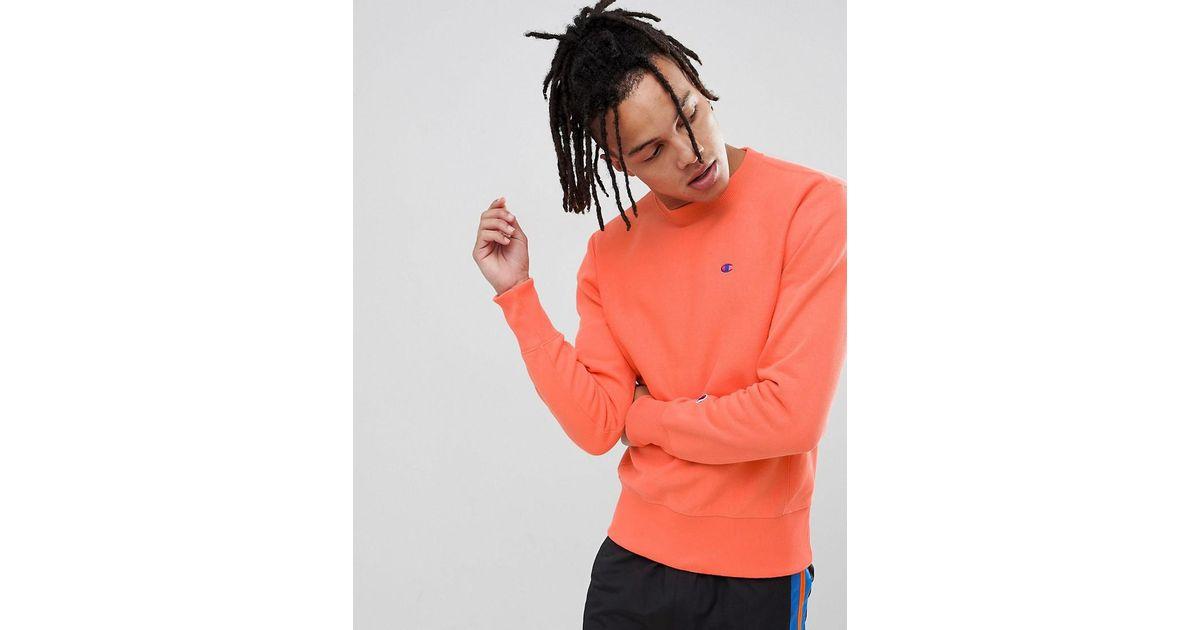 champion sweater peach oficial