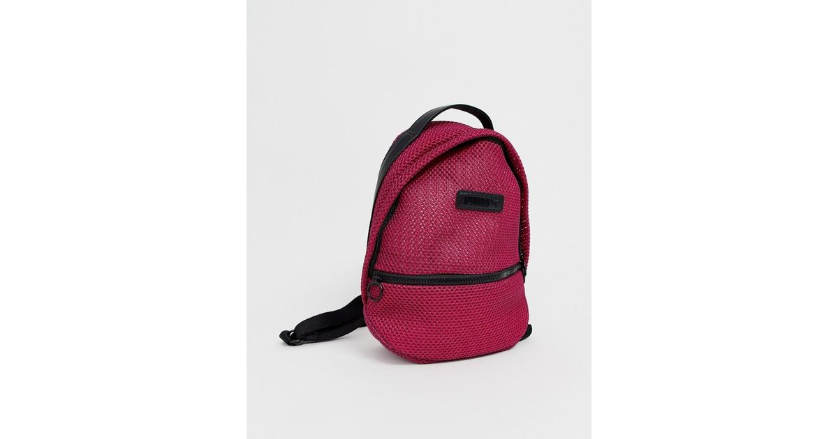 6471d48cbc Lyst - PUMA Prime Time Archive Pink Backpackpink in Pink