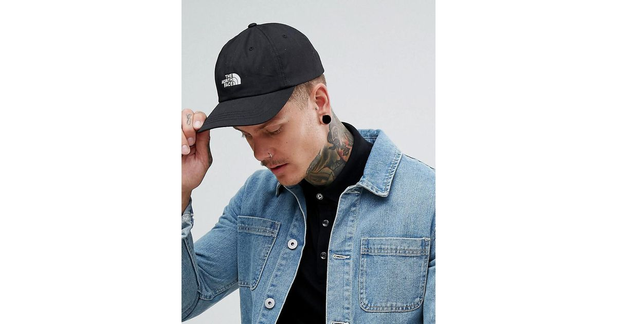 2bf7d6c1 The North Face The Norm Baseball Cap Logo In Tnf Black in Black for Men -  Lyst