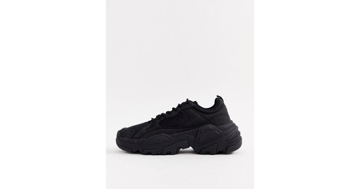 chunky sneakers bershka discount cef49