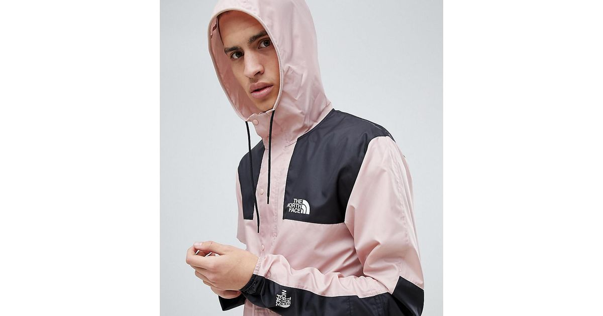 3e25030bb The North Face Exclusive To Asos Mountain Jacket 1985 Seasonal Celebration  In Pink for men