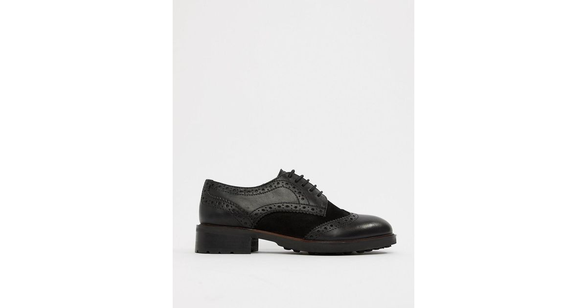 Dune Eva Leather Lace Up Brogues in