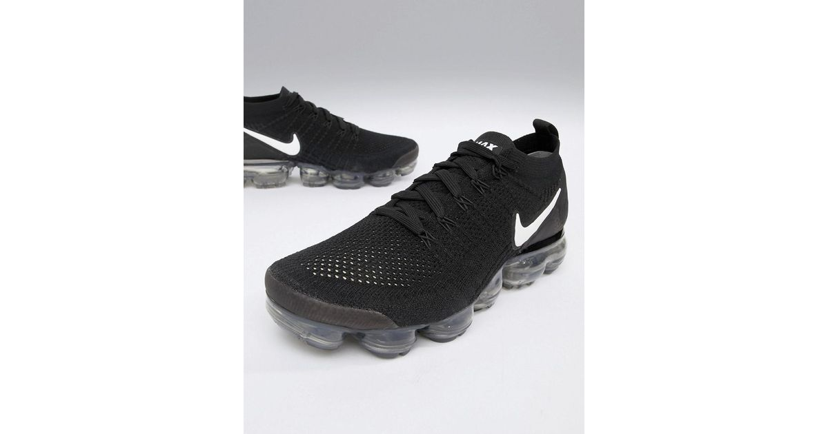 fc1c75a87d8 Nike Air Vapormax Flyknit 2 Trainers In Black 942842-001 in Black for Men -  Lyst