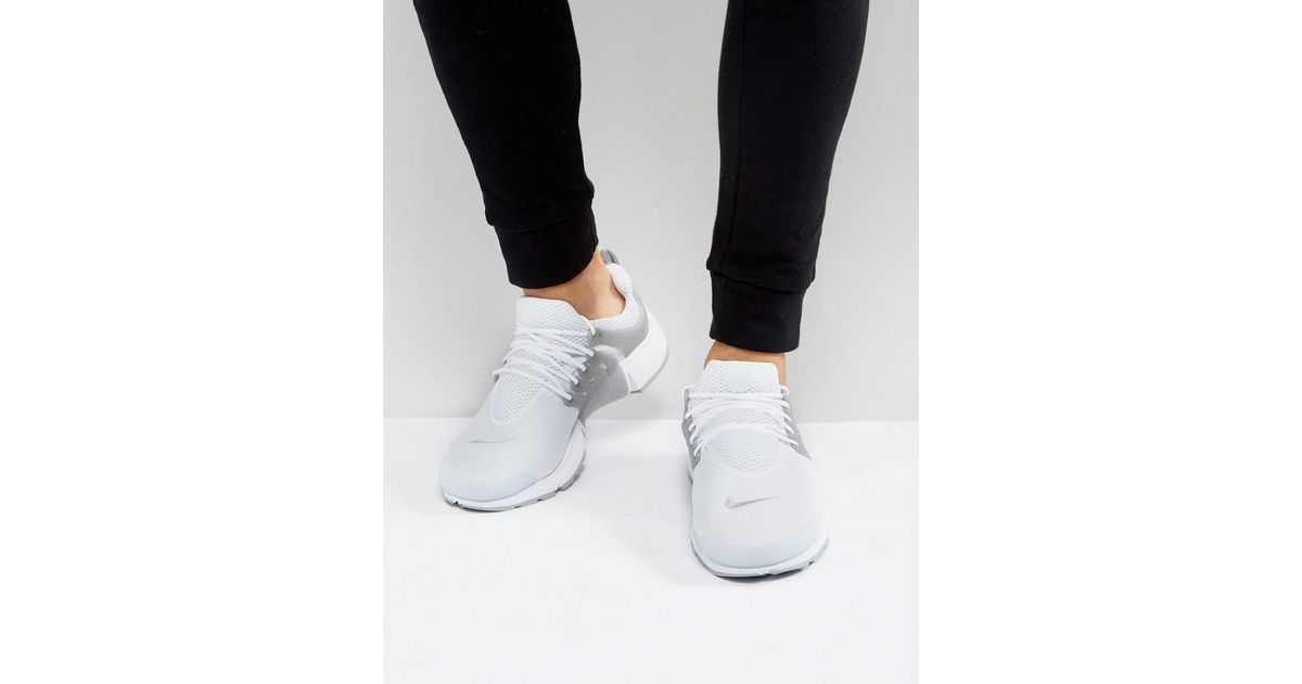 lowest discount cute order online Nike Air Presto Trainers In White 848187-101 for men