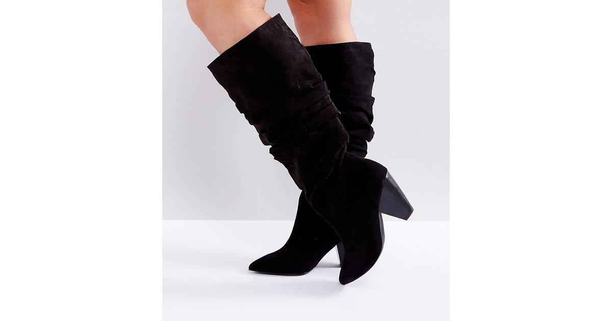 free shipping find great manchester great sale for sale CADET Wide Fit Slouch Knee Boots cheap sale discount brand new unisex online APEEg5E
