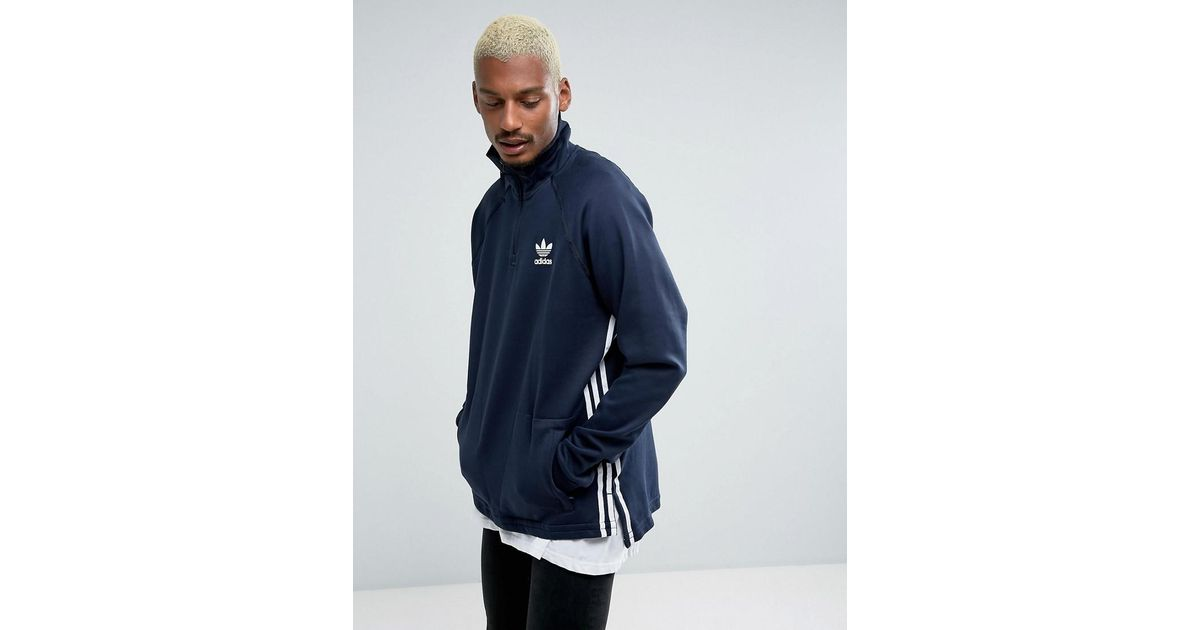 b6a8ad6cde53f Lyst - adidas Originals Tokyo Pack Nmd Half Zip In Blue Bk2217 in Blue for  Men