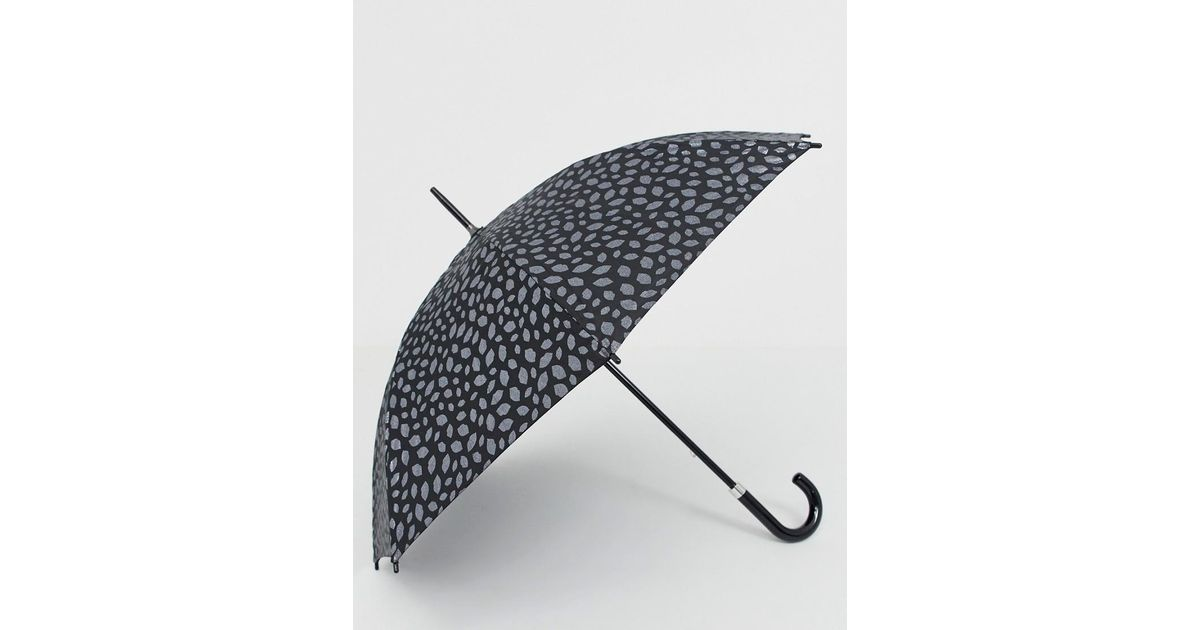 Radley Umbrellas Scattered Floral Black