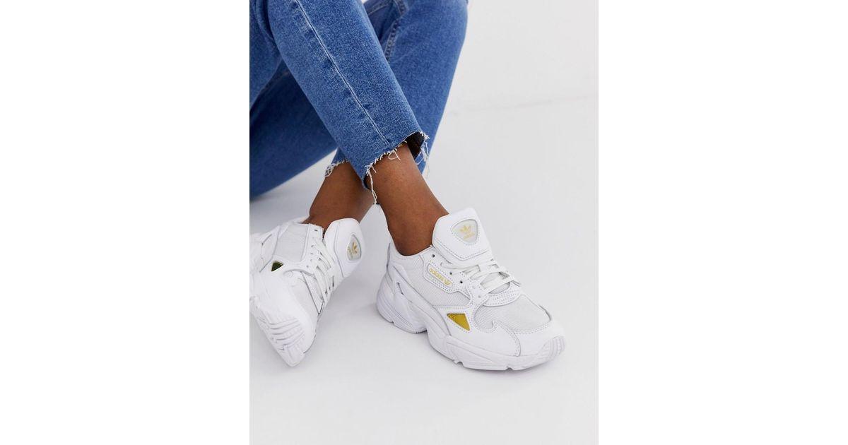 Adidas Originals Adidas 350 Blanco Cuero Zapatillas De moda