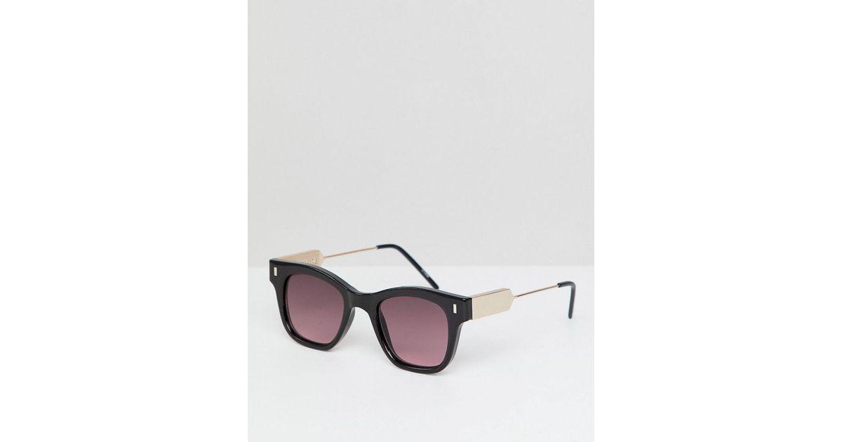 5f44638698 Gafas de sol cuadradas en negro con lentes rojas de Spitfire de hombre de  color Negro - Lyst