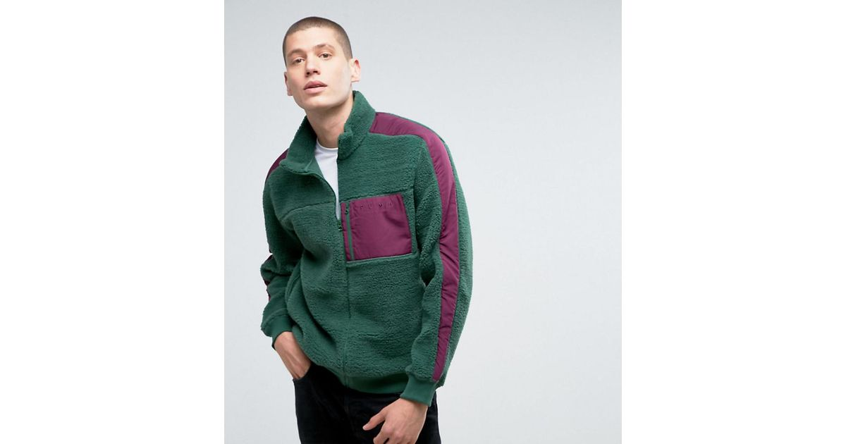9c1e6012c PUMA Borg Jacket In Green Exclusive To Asos 57658401 for men